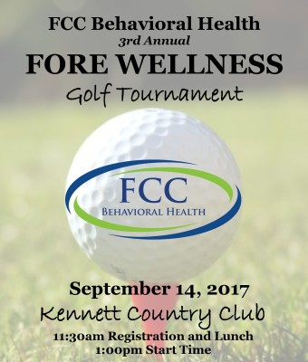2017, 3rd Annual FCC Fore Wellness Golf Tournament