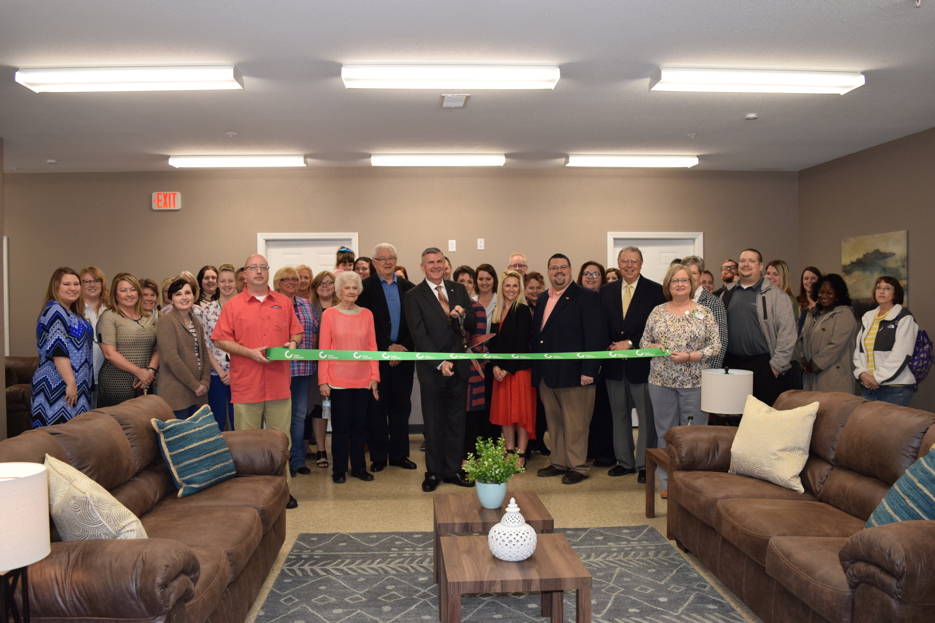 Ribbon Cutting at Serenity Pointe