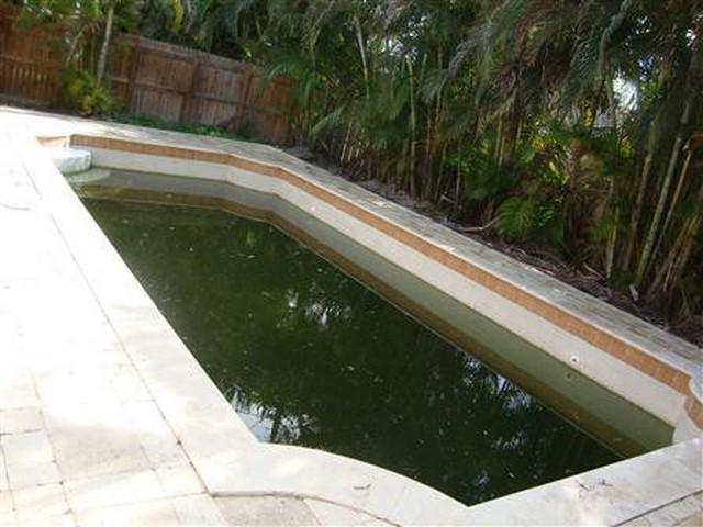 Pool Board Up