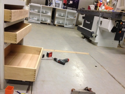 In the Joinery