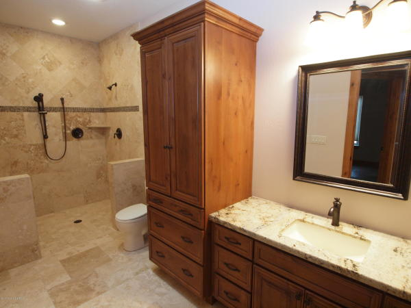 Crown Cabinet Bath Remodel