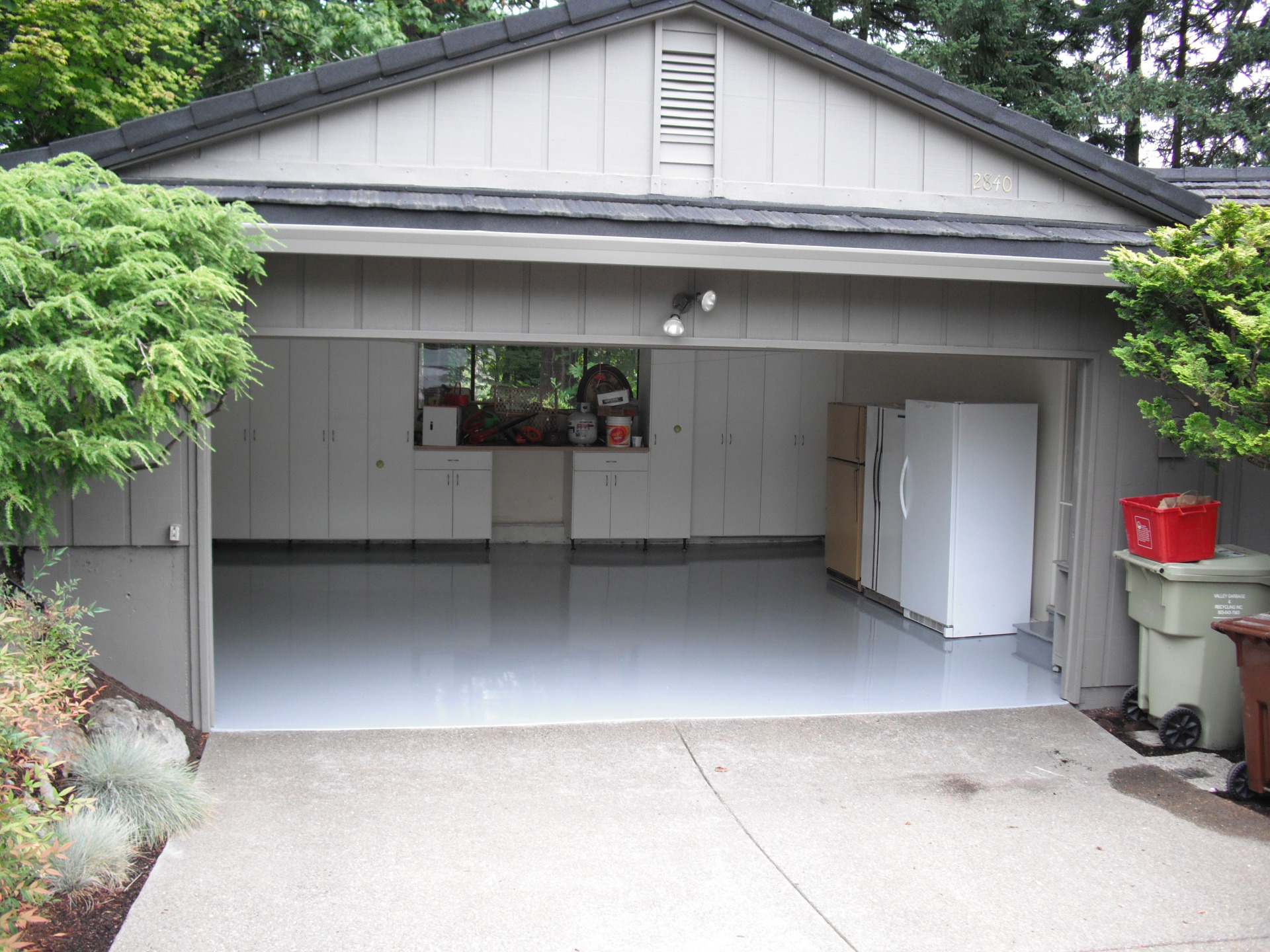 epoxy floors, garage floor coating,