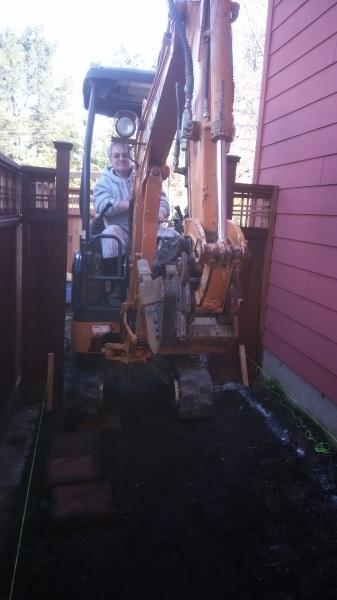 Excavation, sub grade