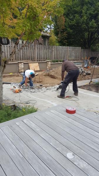 Remove concrete