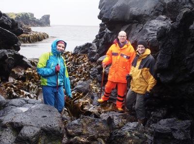 ASCCC Team explore the impact of marine plastic on Marion Island