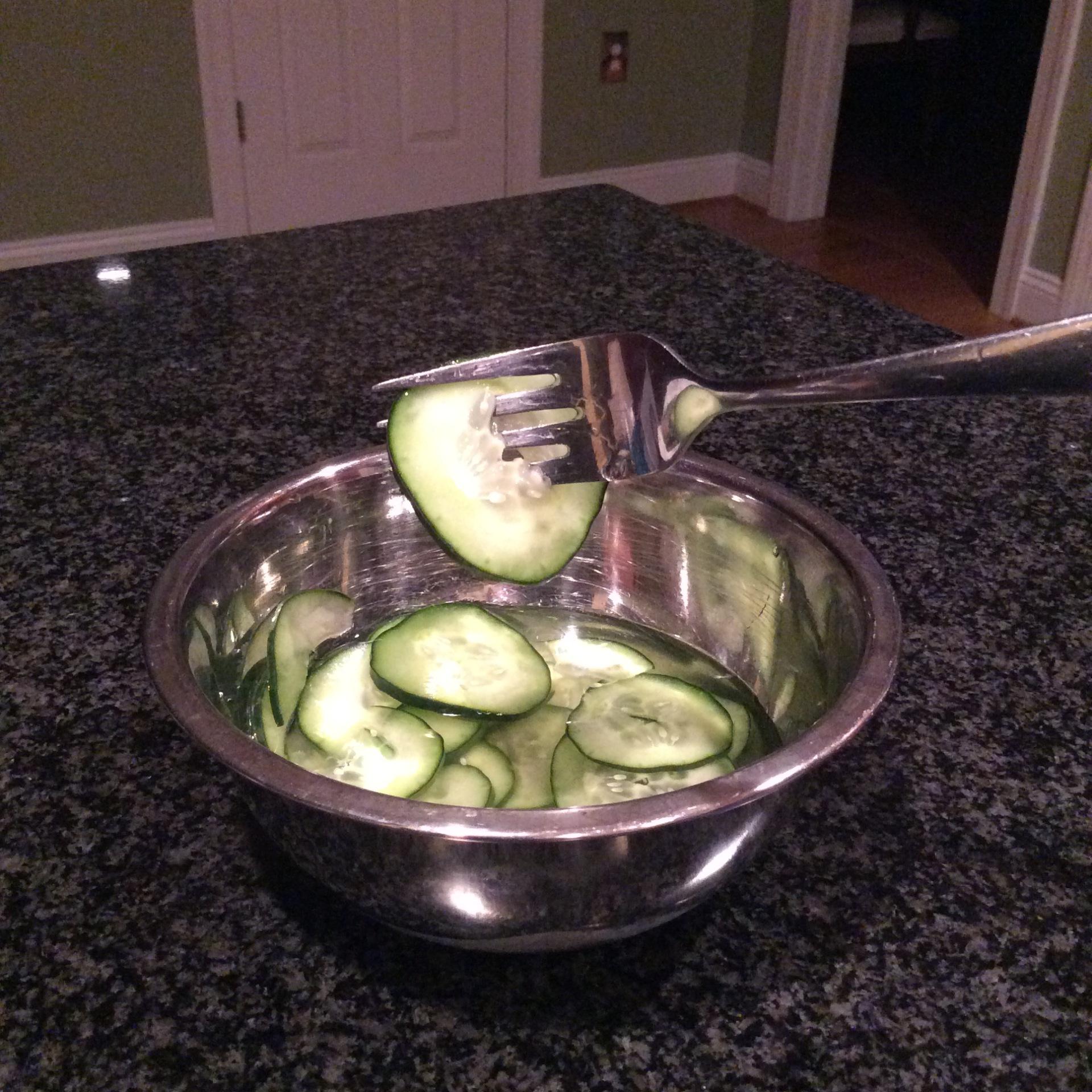 Justine's cucumbers