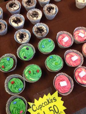 Cupcakes on sale