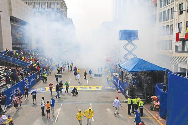 Memories from my first Boston Marathon: 2013