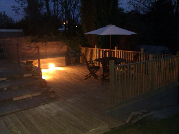 Multi-level Decking