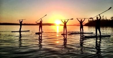 Sunset Paddle & Full Moon Yoga