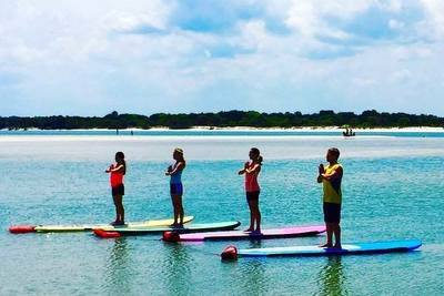 Visit Florida & Enjoy SUP Yoga!