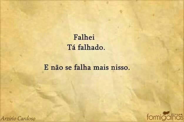 Falhei