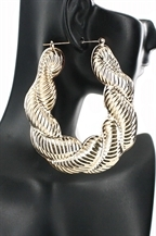 LARGE LOOP EARING  $12