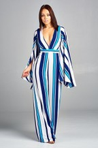 STRIPES JUMPSUIT   $80