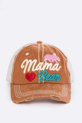 MAMA BEAR HAT  $20