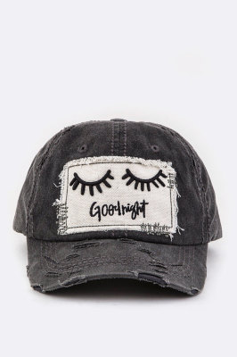 GREY GORG HAT  $20