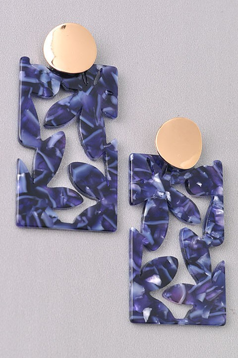 BLUE EARRINGS $15