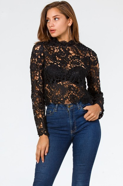 LACEY TOP  $27