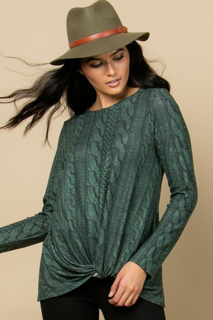 HUNTER TOP    $36