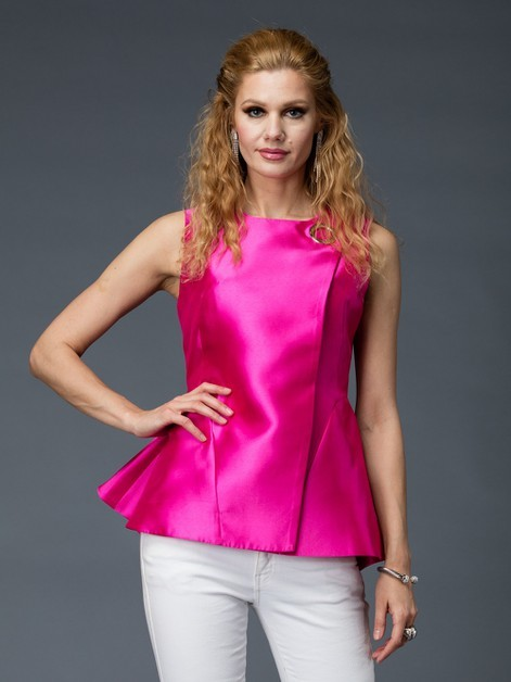 HOT SATIN TOP  $60