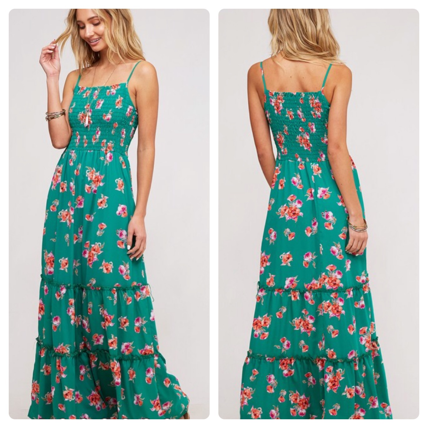 FLORAL DRESS   $40