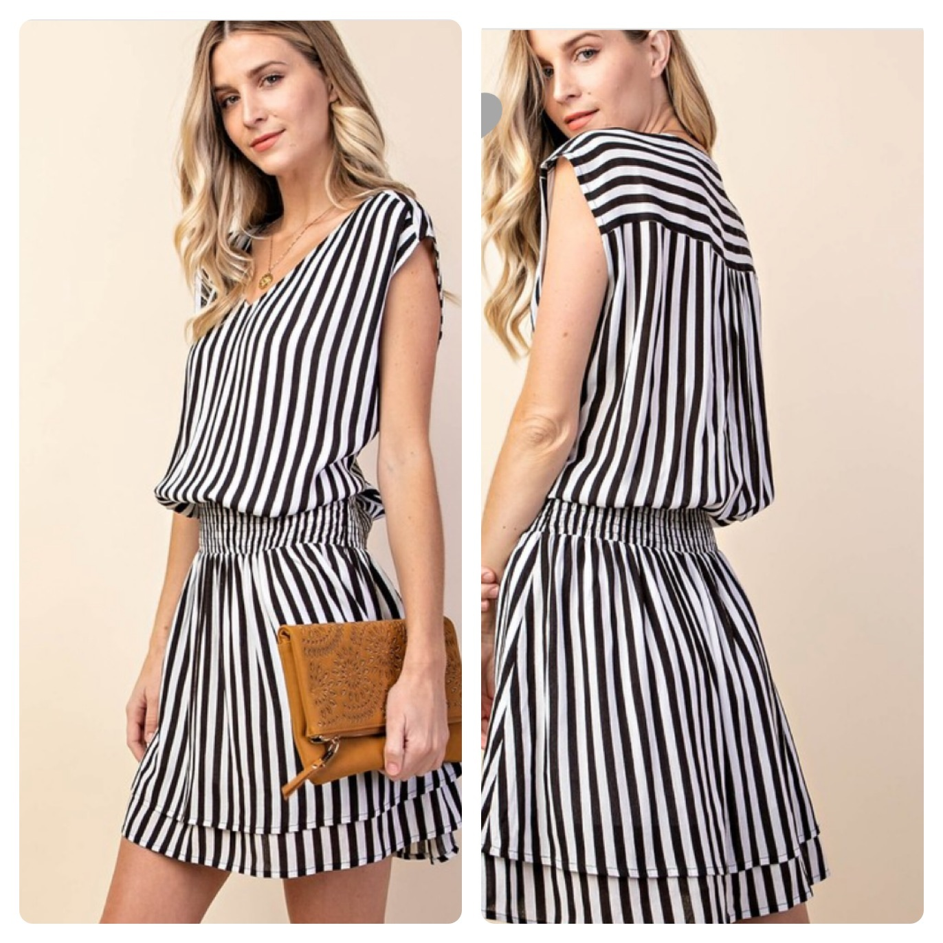 Stripes Dress   $36
