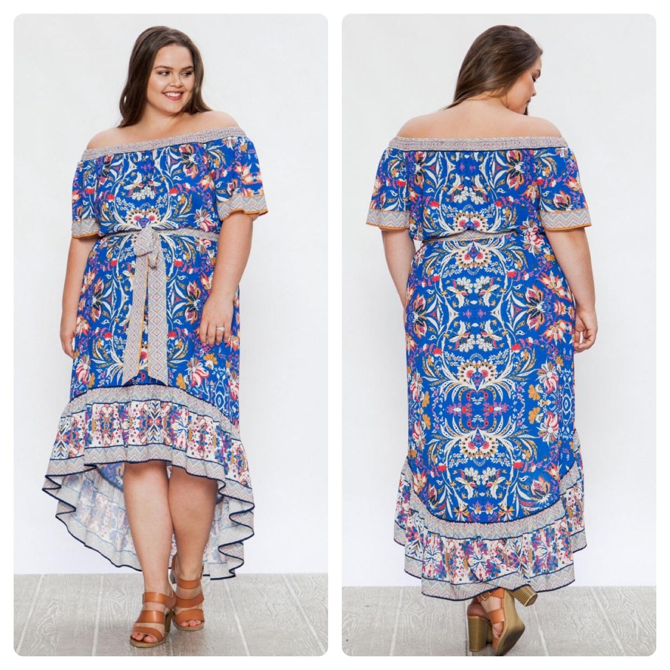 PRINTED  DRESS - $50