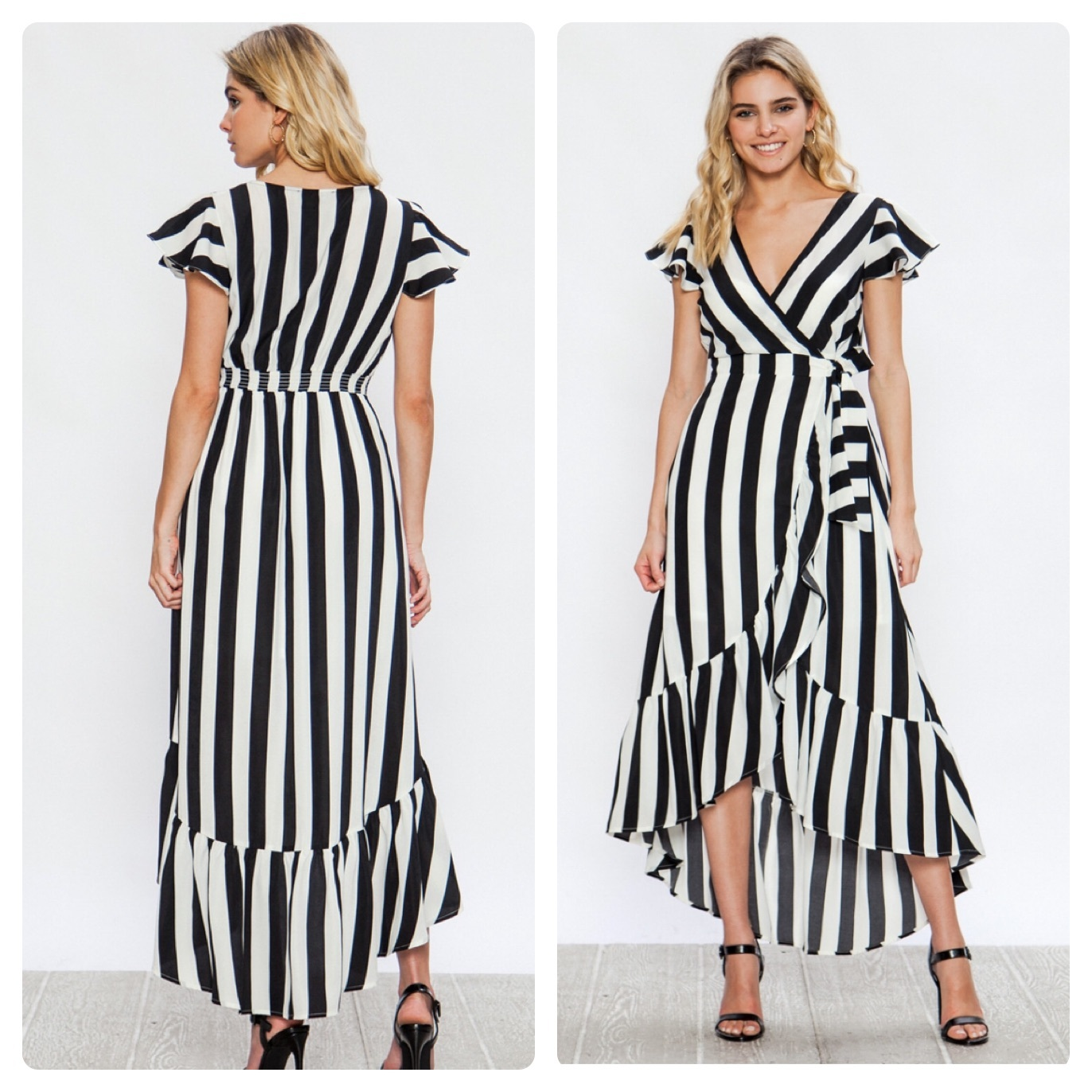 STRIPE DRESS $45