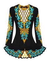 Custom Irish Dance Dress Design, Solo Competition Dress