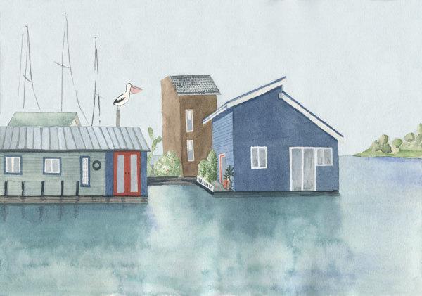 Fishermans Wharf, Canada