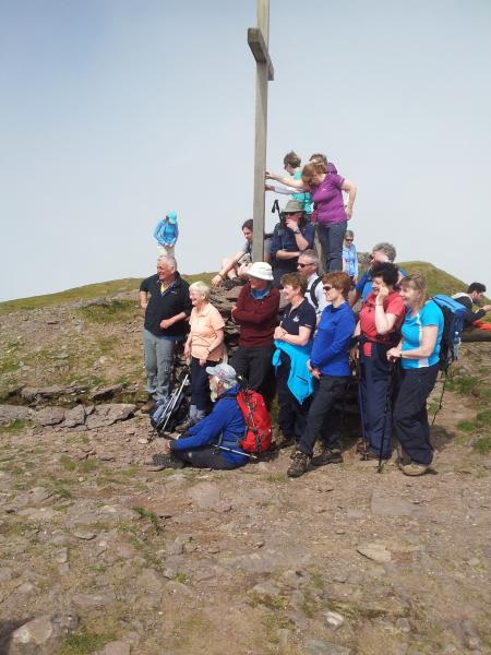 Peak of Mt. Brandon