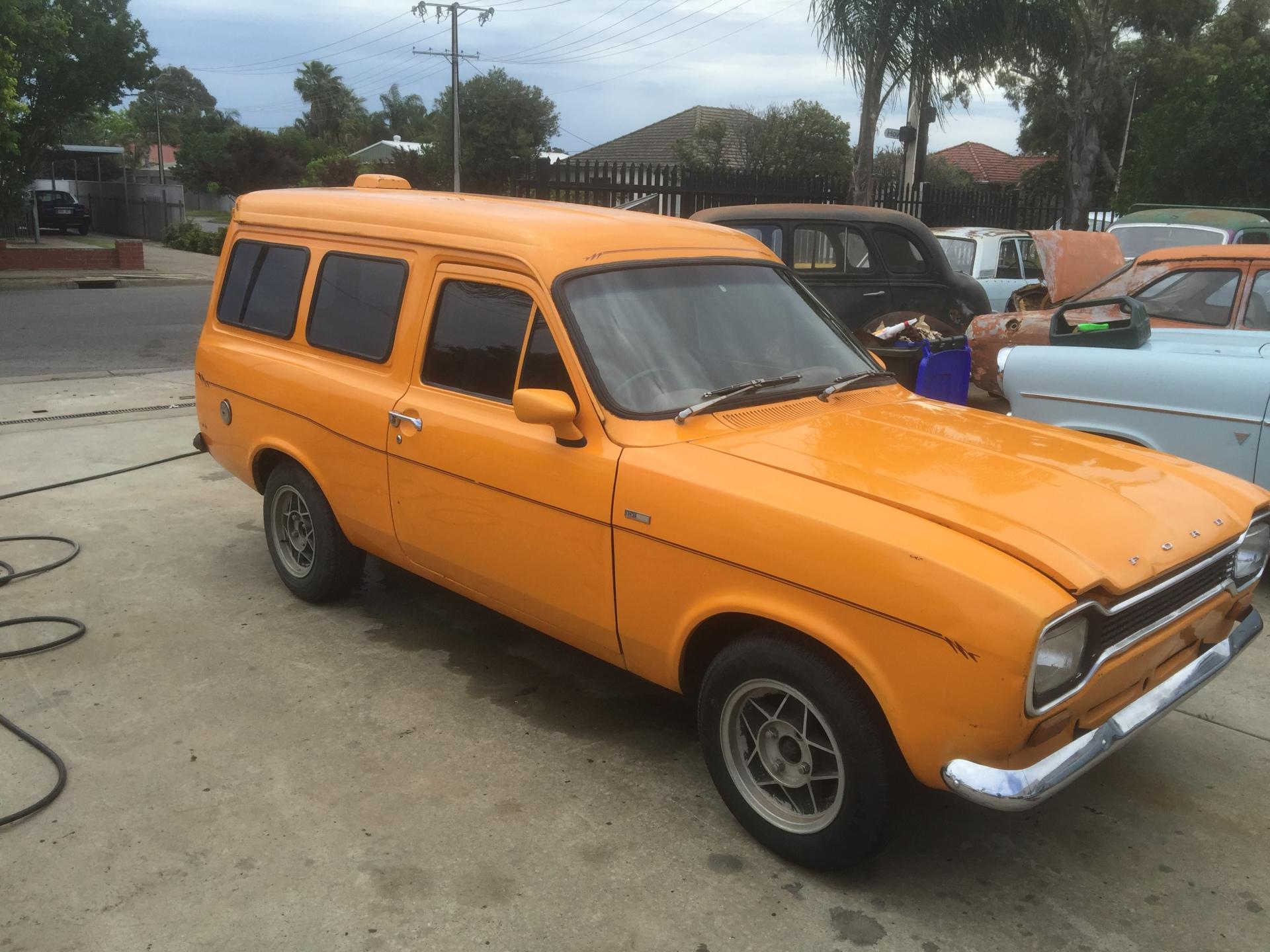 Mk 1 Escort Van