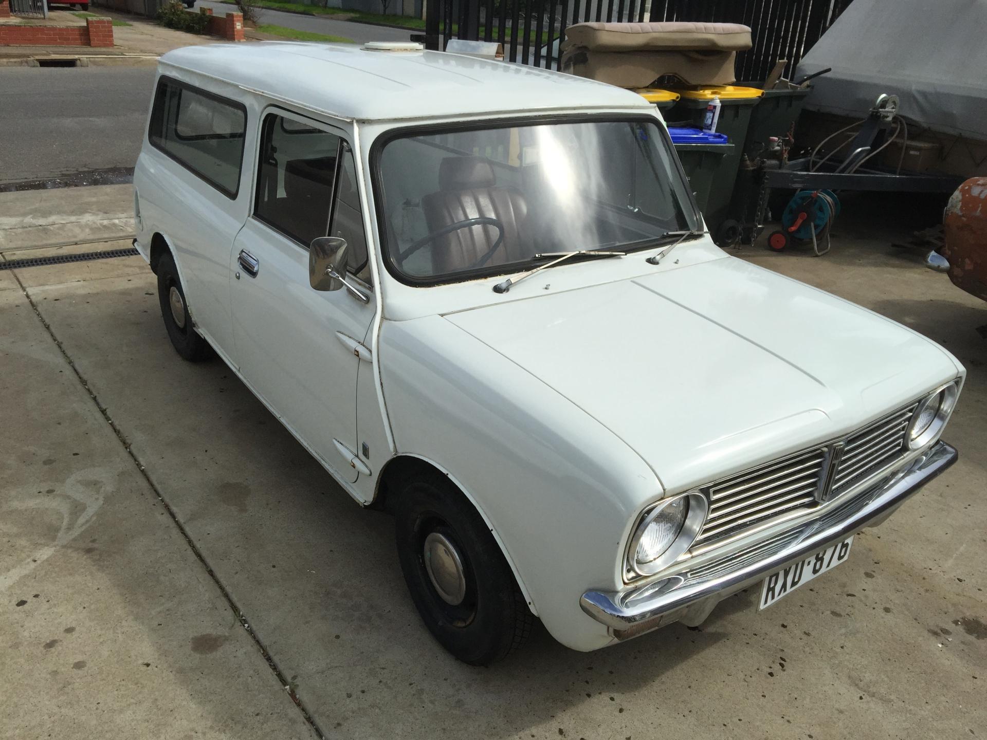 1971 Mini Clubman VAN