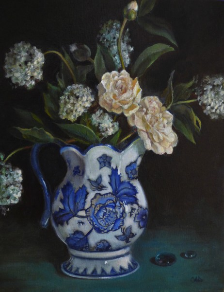 Still Life with English Pitcher