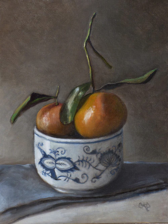 Tangerines w/ Blue Danube