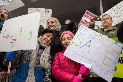 Emergency Cleveland Rally for Immigrants, Muslims, & Sanctuary Cities at Cleveland Hopkins International Airport