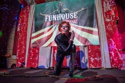 Red Rum - Funhouse Freak Show Halloween Spectacular