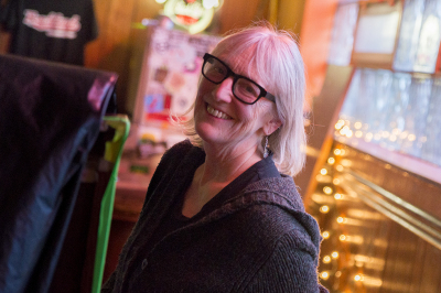 Cindy Barber - owner of The Beachland Ballroom
