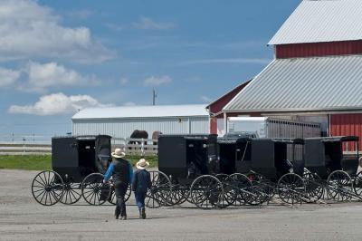 fine art photography, Amish, Kidron, Ohio