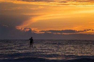 fine art photography, Lake Erie, Sunset, Edgewater Park