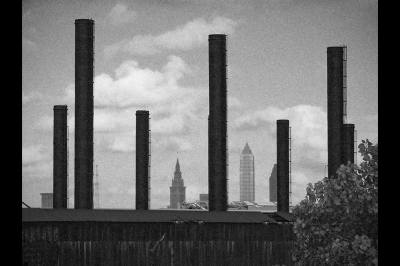 fine art photography, Cleveland, Smoke Stacks