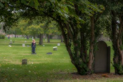 fine art photography, Erie Street Cemetery, Cleveland, Ohio