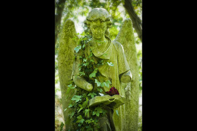 fine art photography, England; Great Britan; London; UK; United Kingdom, Highgate Cemetery