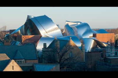 Cleveland, Ohio, Peter B. Lewis Building, University Circle, Case Western Reserve University, Weatherhead School of Management, Frank Gehry