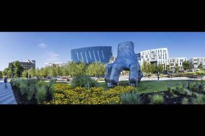 Cleveland, Ohio, Judy's Hand Pavilion Uptown, University Circle, Museum of Contemporary Art Cleveland