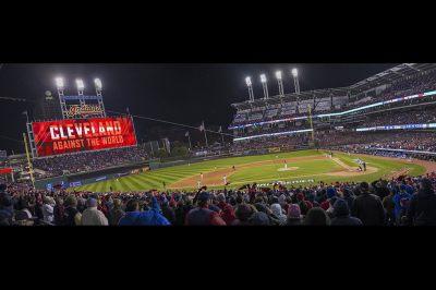 Cleveland Indians, World Series 2016, Progressive Field, Cleveland, Ohio