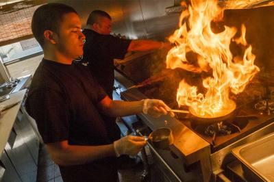 cuisine, chef. Juan Vergara, Barroco Grill, Cleveland