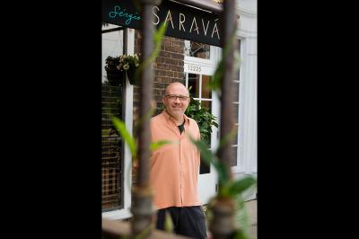 cuisine, chef, Sergio Abramof, restaurateur, Sergio's, Sarava, restaurant