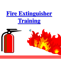 Clipart Fire Extinguisher Training