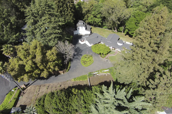 Aerial View of Stahlecker House